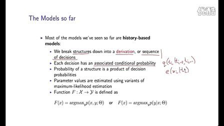 19 - 2 - Recap of History-based Models (7-11)