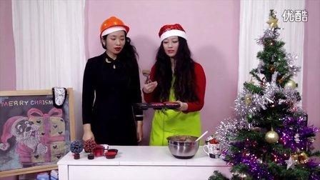 草莓心圣诞树纸杯蛋糕——看两个二货如何欢乐你的圣诞夜