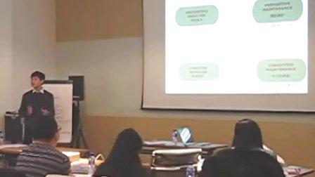 ISPE上海精益研讨中陶建刚关于TPM与人体保养的关系