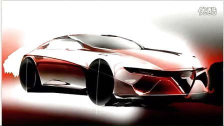 汽车渲染11—阿尔法.罗密欧