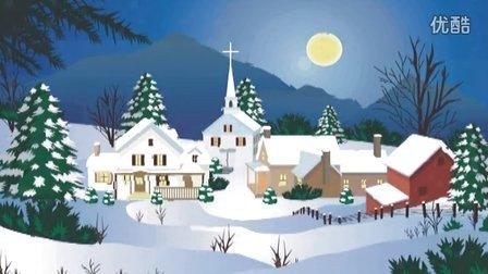 圣诞节快乐!!歌曲 平安夜 圣诞老人进城来