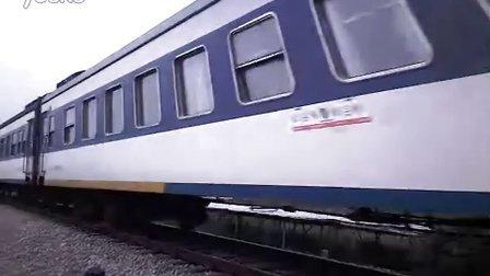 广梅汕铁路彩塘段精彩火车视频橘子牵引白皮厢静静的来