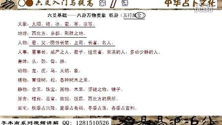 李木南—六爻入门与提高第1讲卦象篇乾兑A