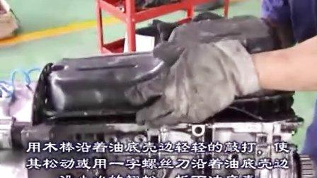 汽车维修_汽车维修学校_免费汽车维修技术网_本田汽车维修视频7-发动机的拆解3
