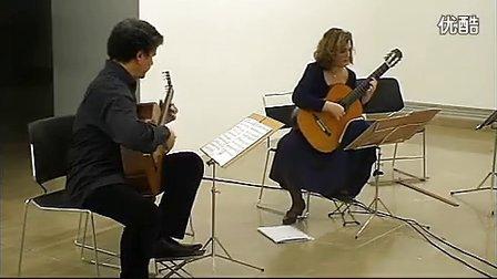 贝多芬《月光奏鸣曲》吉他二重奏 Beethoven-Moonlight Sonata 标