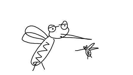 可爱的小蚊子(一日一囧)20120219