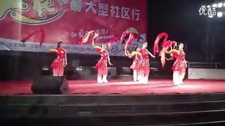 武汉民族舞欢天喜地8人,武汉特色舞台表演,预定电话:13114365784