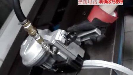 FROMM A483气动铁扣钢带打包机的操作