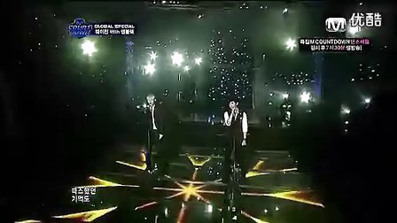 魏晨韩国现场演绎韩语Run..flv