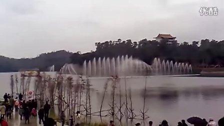 阳江鸳鸯湖喷泉