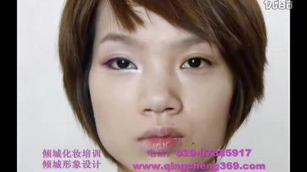 彩妆化妆教学桃花妆