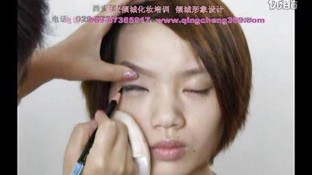 彩妆化妆教学职业妆