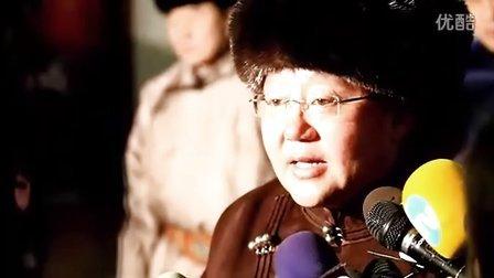 蒙古国总统、大呼拉尔议长、政府总理向全世界蒙古人民拜年