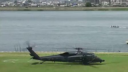 日本航空自卫队 UH-60J 受灾者运送演练3