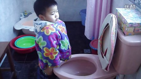 M4H01129 大外孙自己尿尿