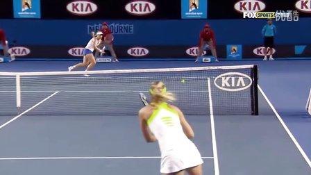 2012澳大利亚网球公开赛_R4_莎拉波娃_vs_利斯基