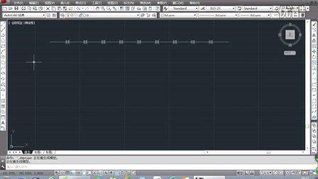 CAD定数等分和定距等分线段