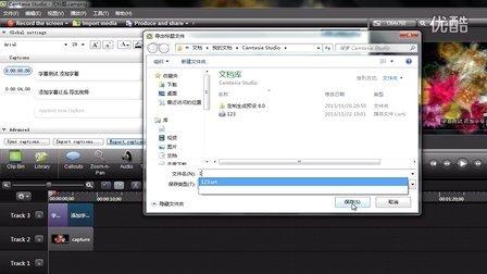 Camtasia Studio 8 添加字幕以及导出视频