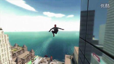 《超凡蜘蛛侠》电影官方手机游戏片花E3展会首度曝光