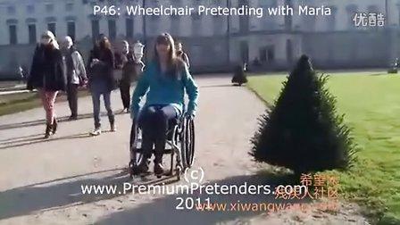 轮椅女孩Maria