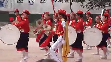 怀宁县小市中心学校鼓号队庆六一精彩表演