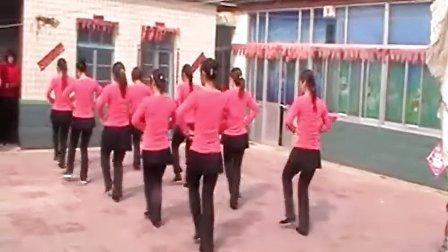 寿光市羊口镇曹辛村全民健身广场舞【眉飞色舞】