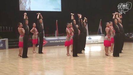 第五大道  【2013 WDSF德国】拉丁舞 团体舞6