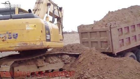 河南挖掘机装载视频挖视频培训驾驶操作表演挖土机培训