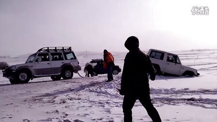 2012-1-2-老米山猫雪地被救-内蒙玩雪