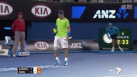 2012 澳网决赛 德约科维奇vs纳达尔