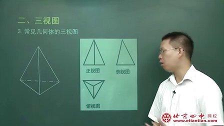 空间几何体的三视图与直观图