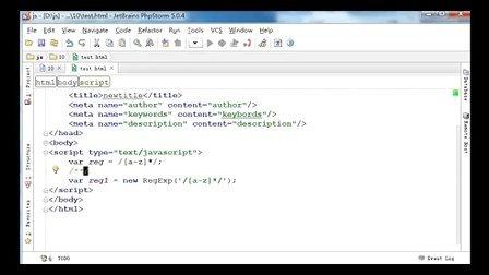 JavaScript基础与jQuery应用第十课_字符串的操作及正则表达式
