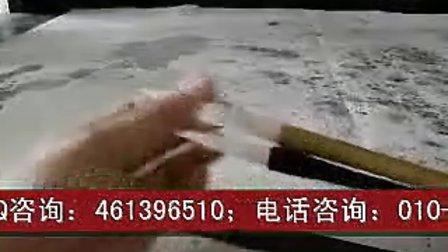 中国书画函授大学书画工具讲座:毛笔的用法1——练功笔