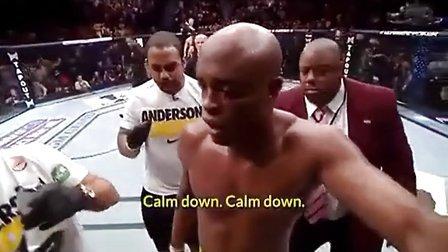 高清:UFC拳手遭恐怖断腿 挣扎倒地痛苦万分