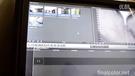 在大的触摸屏上使用final cut pro x
