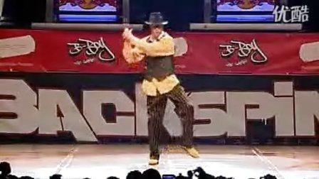 世界街舞大赛冠军个人l雷人表演