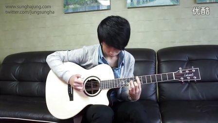 Sungha Jung吉他彈奏BLUE (BigBang)