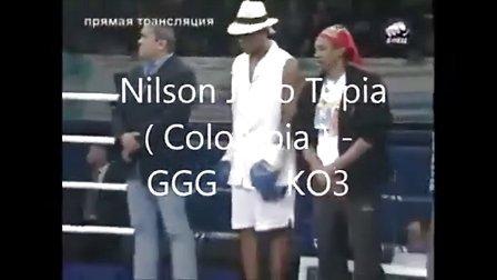 哈萨克斯坦世界中量级拳王GGG比赛精彩瞬间!泰森接班人!