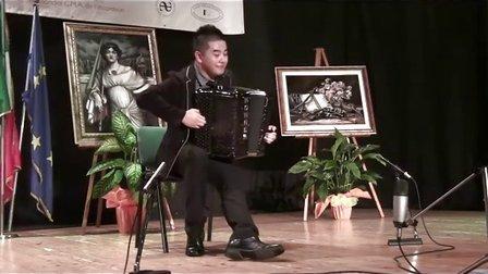 流行手风琴成人组 第三名 第一轮 刘昭