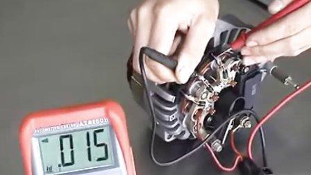 【大众汽车维修视频】发电机的拆装与检测