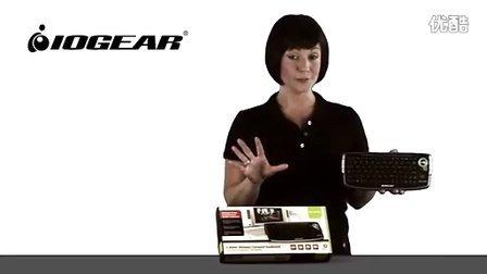 哪里最划算nlzhs.com:Iogear无线多媒体键盘带轨迹球