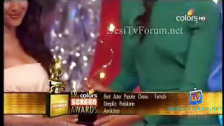 18th Annual Screen Awards Part3 22nd jan 2012