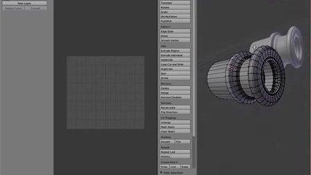 Blender_基礎教程_古董望遠鏡材質製作_1_UV展開上篇