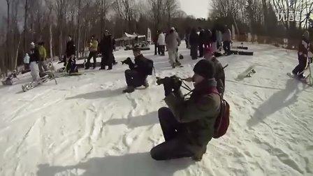 [u2b] 雪地滑板车 Snowscoot World Sutton 2010