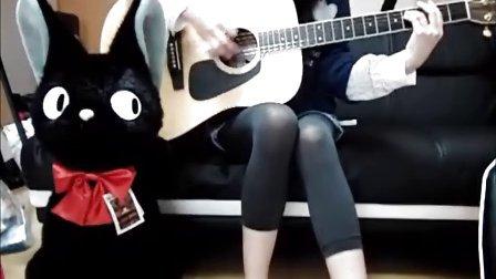 YUI cover Good-bye days guitar raimu016chie