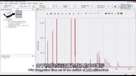 海洋光学 - 光谱仪的波长校准