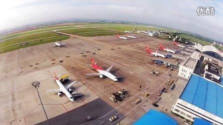 南宁吴圩国际机场延时摄影GOPRO HERO2NIKON D7000time-lapse 扬子江