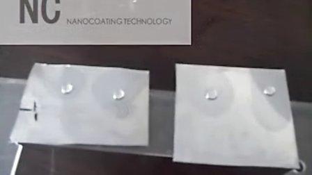 纳罗可nanocoating NC103传统油漆涂料疏油疏水添加剂 疏水实测