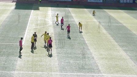 芬克杯业余足球联赛第三赛季 准格尔华峰vs普泰建设集团