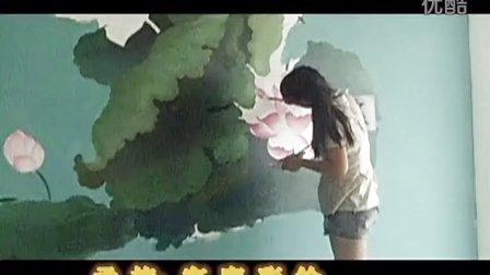 墙体彩绘 幼儿园彩绘 酒店壁画
